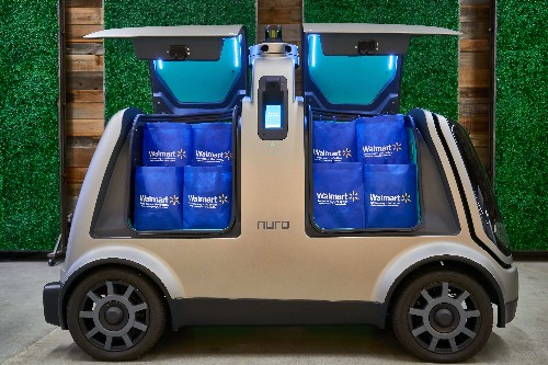 Nuro's driverless delivery robots will start serving Walmart customers in Houston