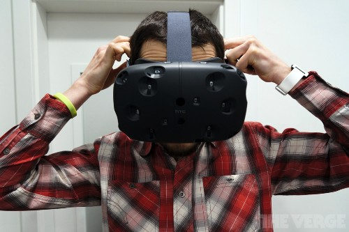 I wore the Vive VR headset and didn't want to take it off