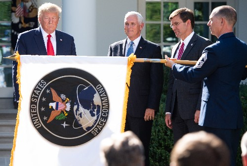 The Trump administration stands up US Space Command as fate of Space Force is still undecided