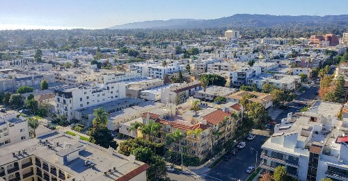 LA rental prices fall for the first time in a decade