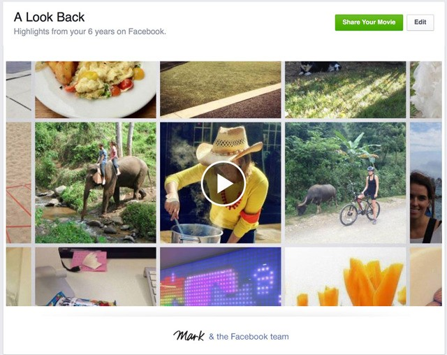 Facebook celebrates 10-year anniversary with personalized 'Look Back' videos just for you