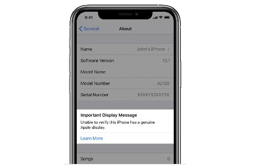 Apple's iPhone 11 and 11 Pro will show a warning on your lock screen if they can't verify a replaced screen