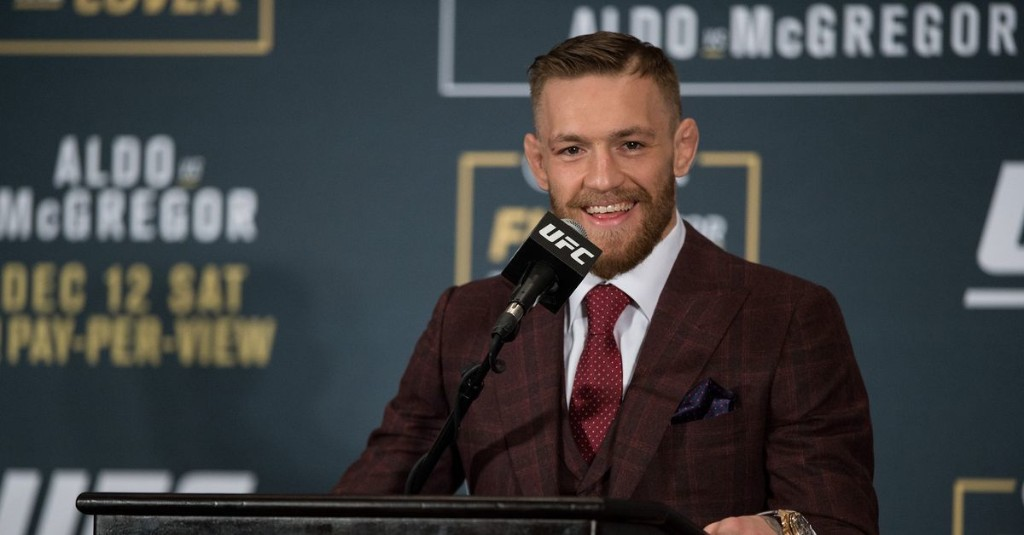 Conor McGregor was Forbes' No. 16 highest paid athlete of 2020