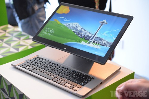Acer's Aspire R7 combines desktop, laptop, and tablet with one 'floating touchscreen' (hands-on)