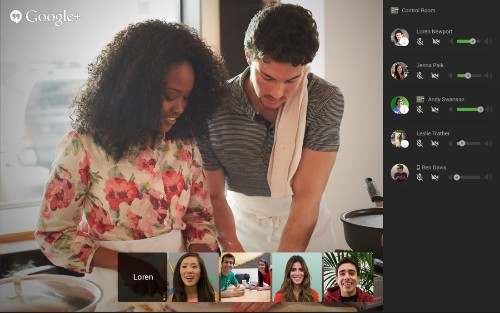 Google's Control Room adds better audio and video management to Hangouts on Air