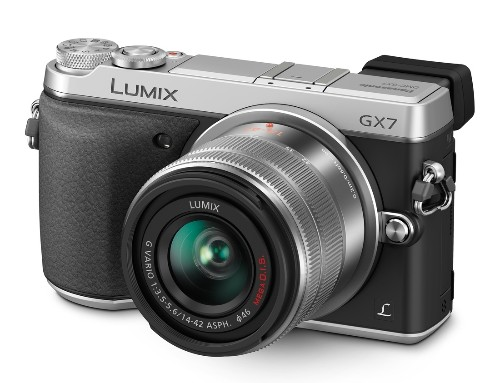 Panasonic tries on a new look with retro-styled GX7 camera