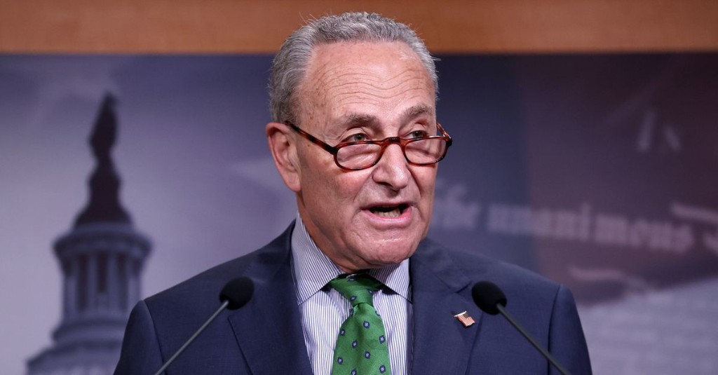 Chuck Schumer warns that delays to stimulus will disproportionately hurt black Americans