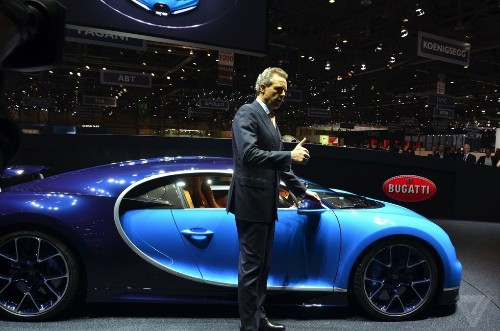 The Bugatti Chiron is the world's fastest road car