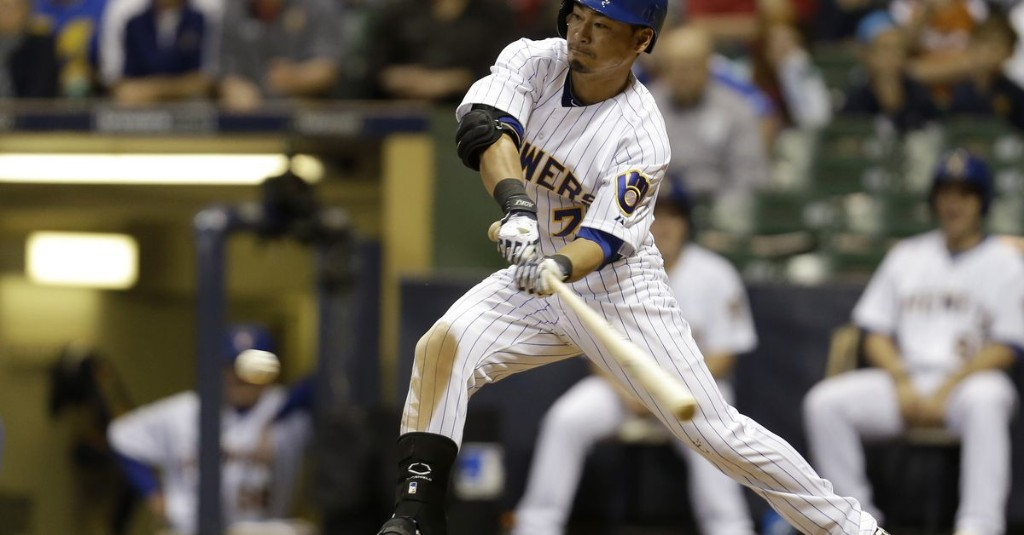 Nori Aoki somehow played an entire season without seeing the bases loaded