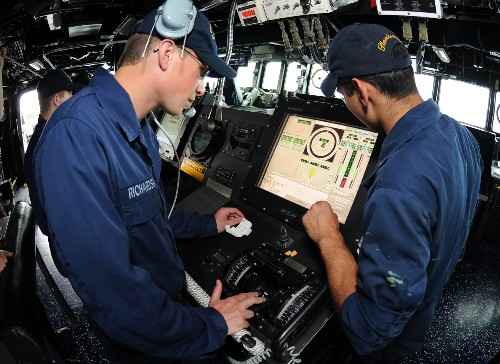 The US Navy will replace its touchscreen controls with mechanical ones on its destroyers