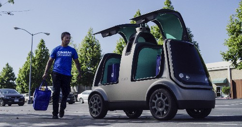 America's largest supermarket chain is launching a fully driverless delivery service