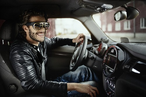 Mini Augmented Vision concept brings crazy-looking AR glasses inside the car