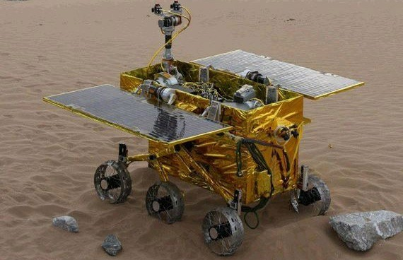 China is set to land its first rover on the moon
