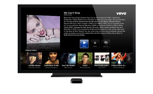 Apple TV gets new apps for Vevo, Disney, and The Weather Channel