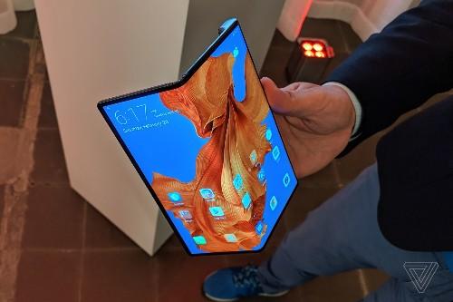 Huawei's folding Mate X ships next month for $2,400