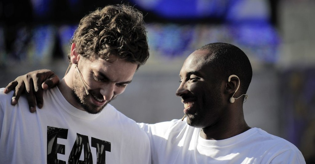 Pau Gasol describes what he wants people to remember about Kobe Bryant