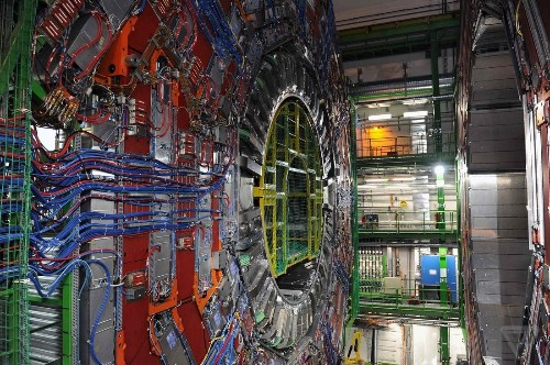The Large Hadron Collider in pictures: using big technology to investigate tiny things