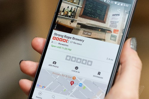 Yelp swaps restaurant phone numbers with Grubhub-affiliated ones when you call from the app