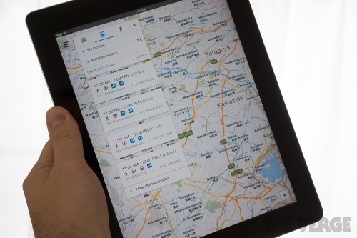 Google Maps arrives on iPad with 2.0 update