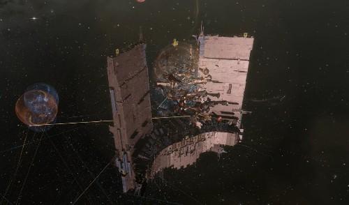 Eve Online's 'million dollar' battle came up a little short last night (update)