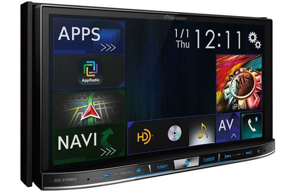 Pioneer announces three car stereos with CarPlay and Android Auto support
