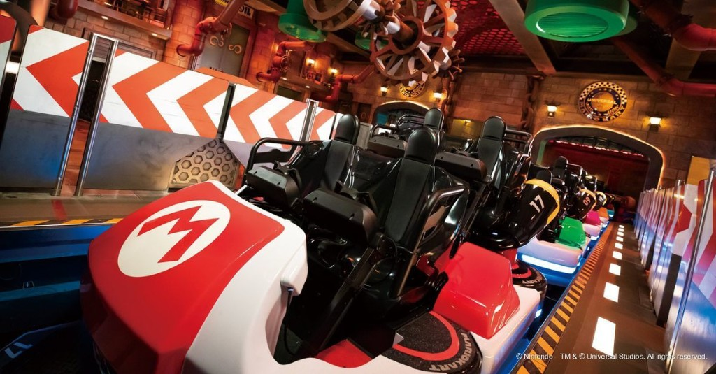 Super Nintendo World theme park opens Feb. 4 — see the new Mario Kart ride