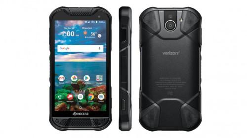 Kyocera's new rugged phone has a sapphire screen and a fingerprint sensor