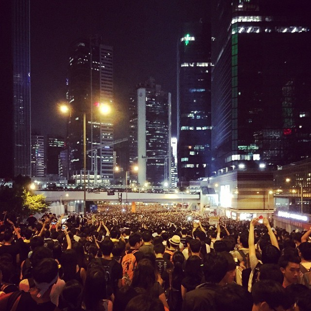Hong Kong's protests are putting Chinese web censorship to the test