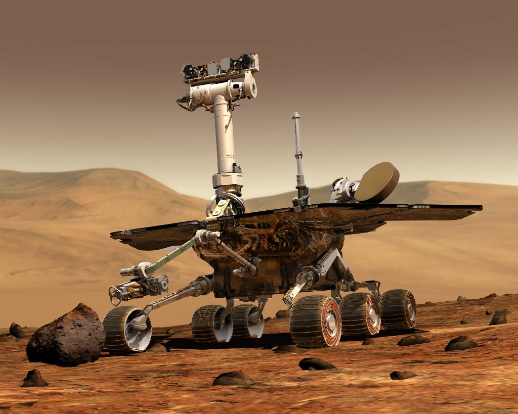 NASA's Opportunity rover surpasses 5,000 Martian days on the Red Planet