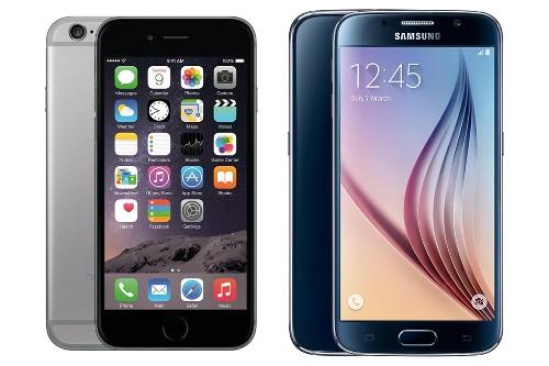 iPhone 6 vs. Galaxy S6: a pixel-perfect size comparison
