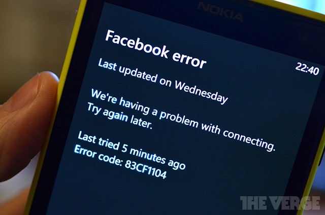 Microsoft working to fix Windows Phone Facebook integration