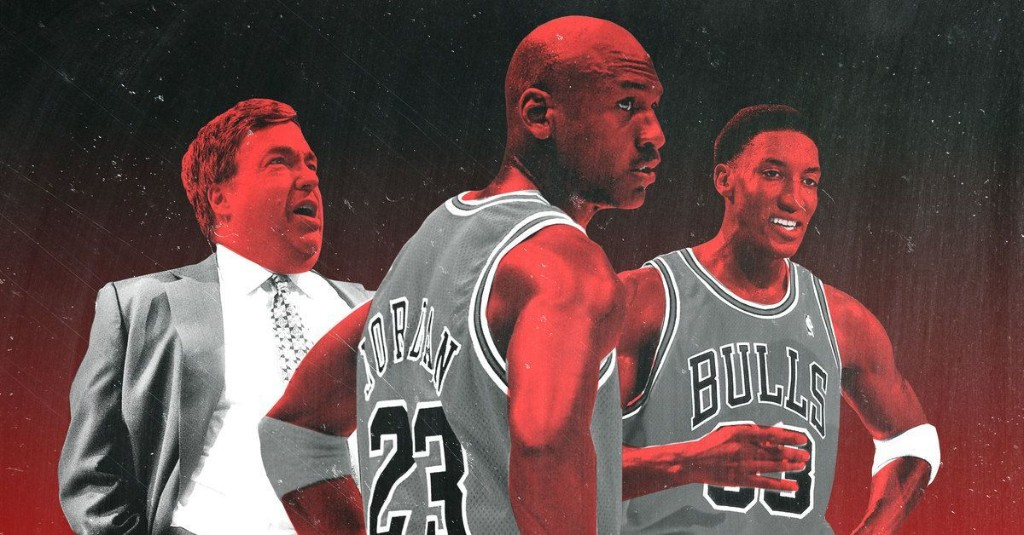 'The Last Dance' Debuts With Prime Jordan and the Bulls' Egotistical Villain