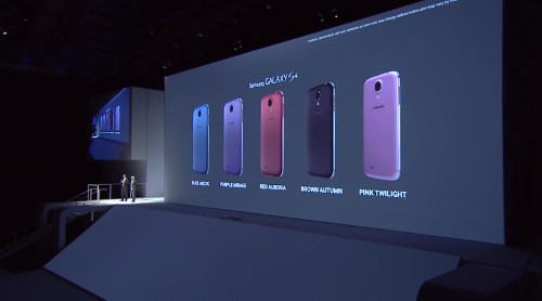 Samsung's Galaxy S4 will soon be available in five new colors