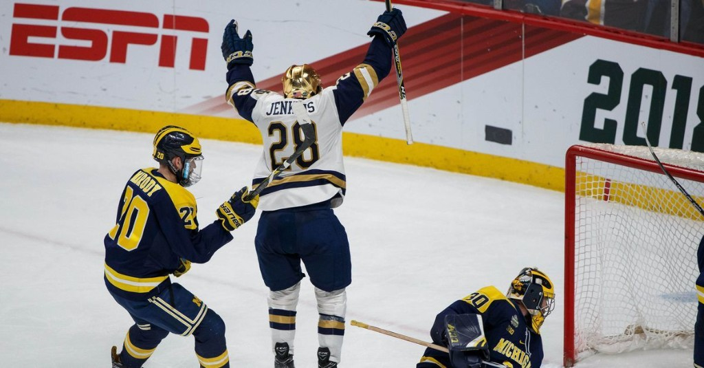Notre Dame Hockey's Biggest Rivals