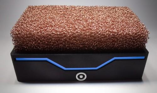 A weird copper shrub keeps this computer totally silent