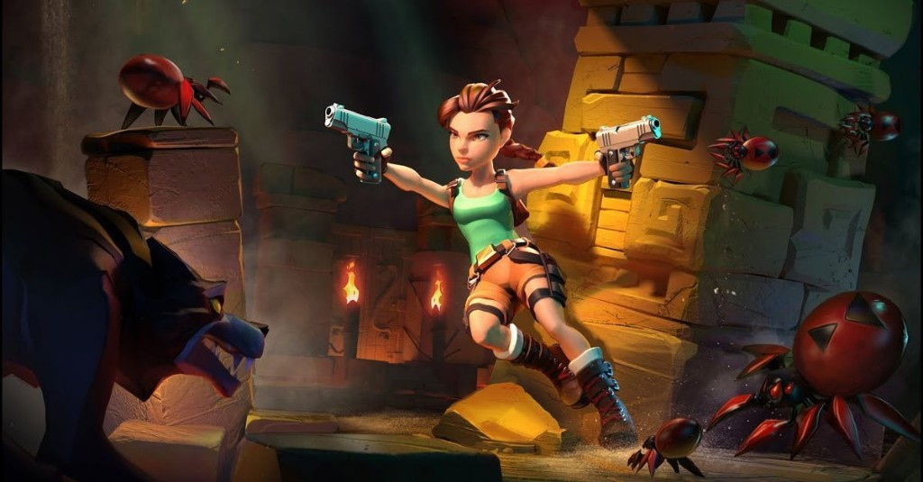 Classic Lara Croft is back in cute mobile game Tomb Raider Reloaded