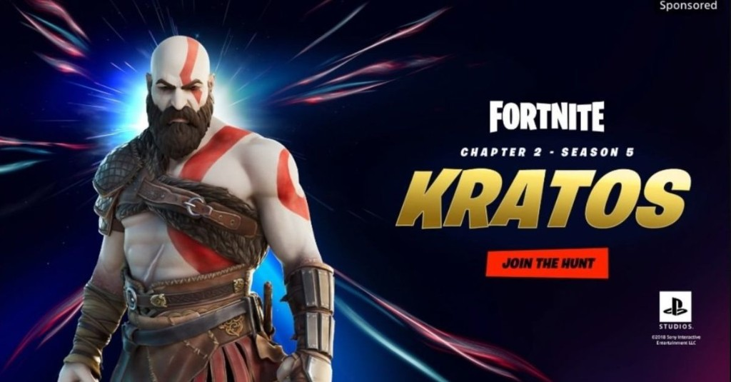 Kratos joins Fortnite's Season 5 crossover free-for-all