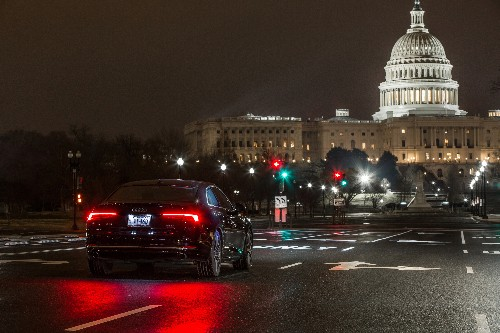 Now your Audi can read Washington, DC's traffic lights