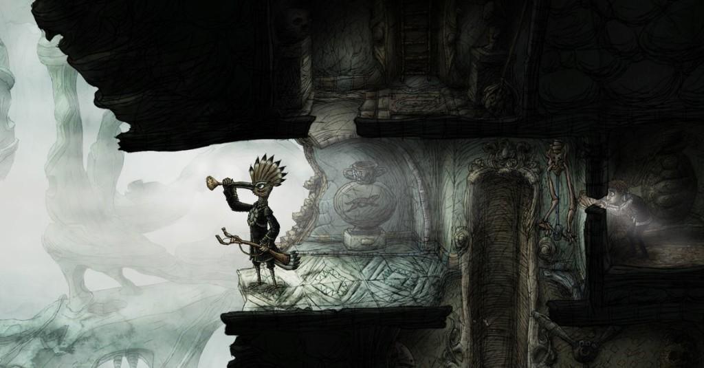 Mysterious adventure game Creaks arrives next week