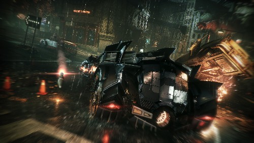 Designing the ultimate Batmobile for Batman: Arkham Knight