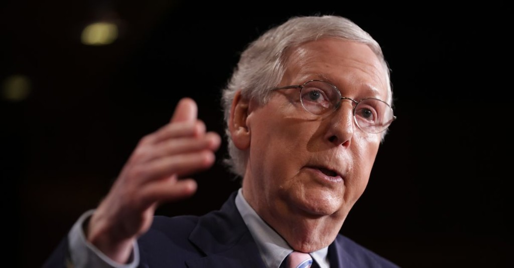 Mitch McConnell isn't too concerned about a new sexual misconduct allegation against Kavanaugh