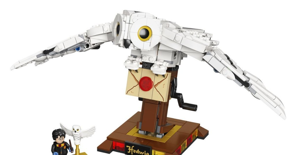 New Lego Harry Potter sets on the way, including huge Hedwig and Grawp the giant