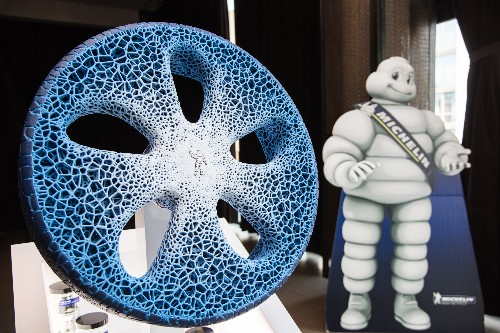 Michelin wants to reinvent the wheel for the driverless age