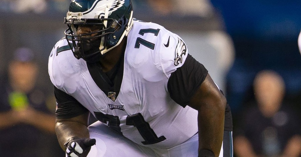 Tra Thomas has concerns about the Eagles moving Jason Peters to right guard