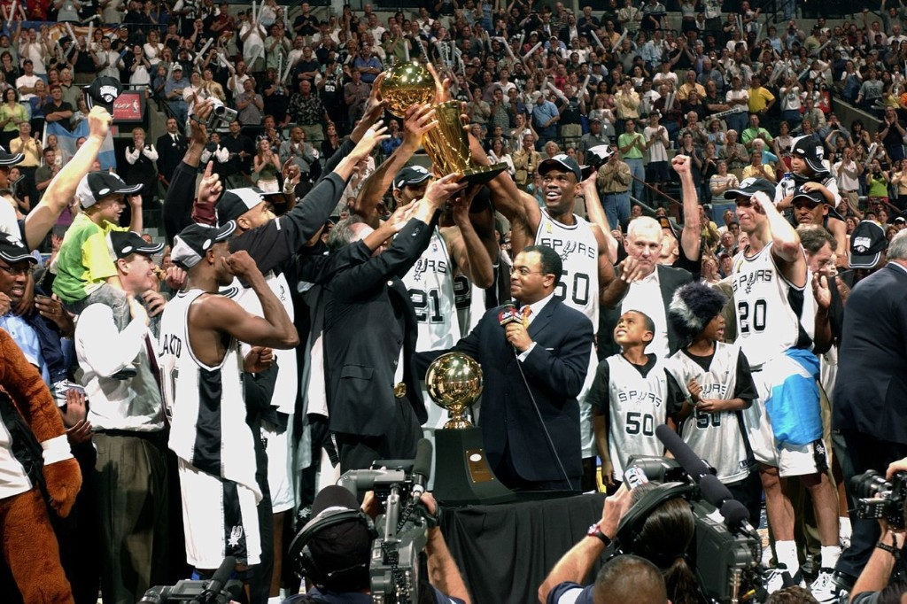 Open Thread: Let's talk about the San Antonio Spurs 2003 NBA Championship