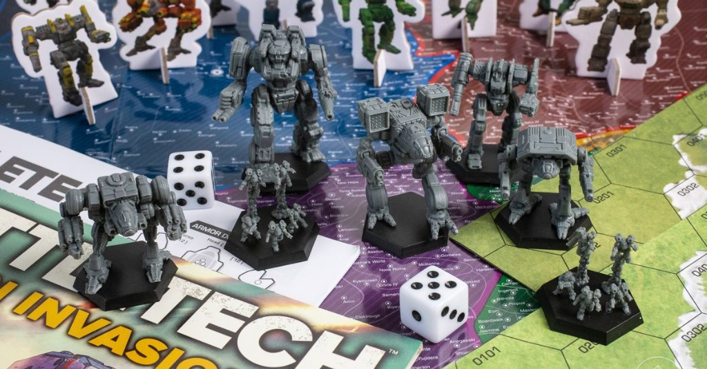 The next great BattleTech game is headed to the table with the Clan Invasion expansion