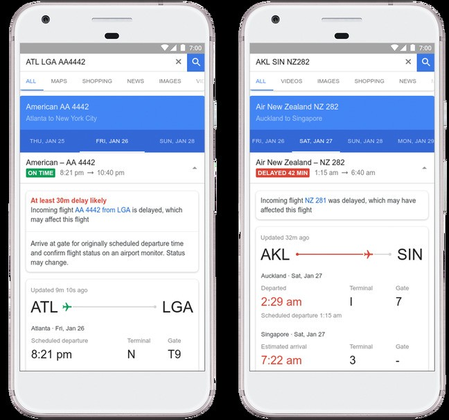Google is now using machine learning to predict flight delays