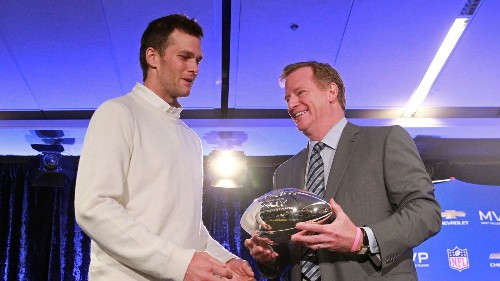 Roger Goodell couldn't avoid the Patriots forever