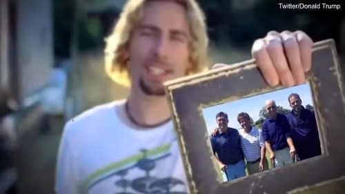 Nickelback brings a swift end to Trump 'Photograph' tweet