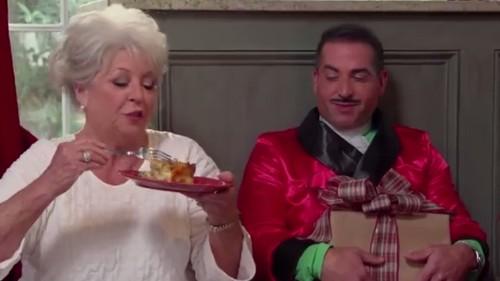 Paula Deen and Family Wish You Happy Holidays With Bizarro Video